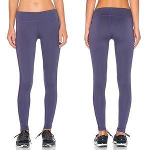 James Perse Concord Purple Yosemite Yoga Pants